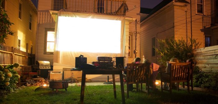 How to make your own backyard movie theater for $252 with no DIY skills