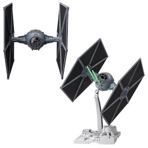 Tie fighters model