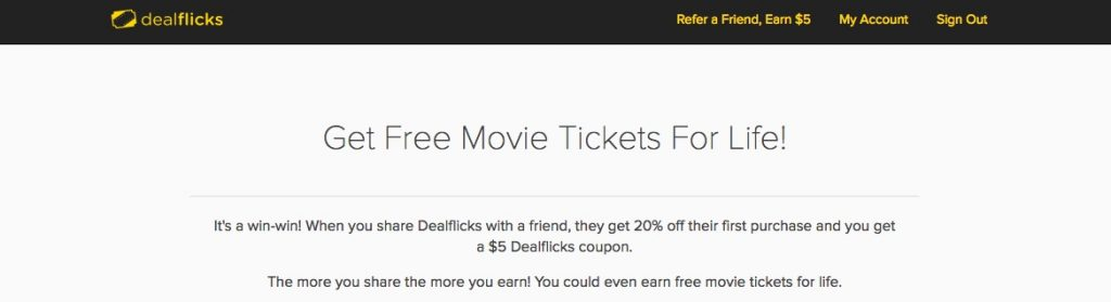 dealflicks refer a friend
