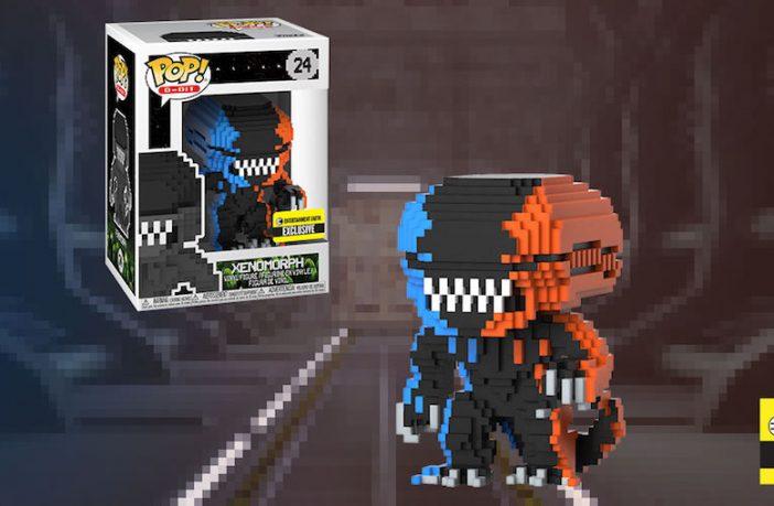 alien 8-bit funko pop