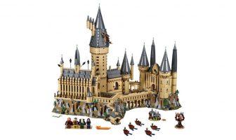 harry potter hogwarts castle lego