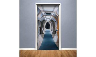 star trek door cover